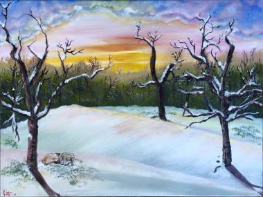 32 Acrylic Paint, 12X14