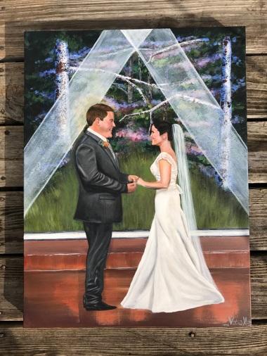 16X20 Acrylic on canvas