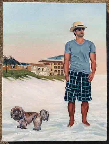 "12"" X 16"" Oil on canvas"
